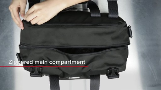 Tumi Alpha Bravo Buckley Duffel - image 8 from the video