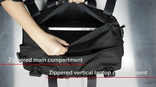 Tumi Alpha Bravo Buckley Duffel - image 9 from the video