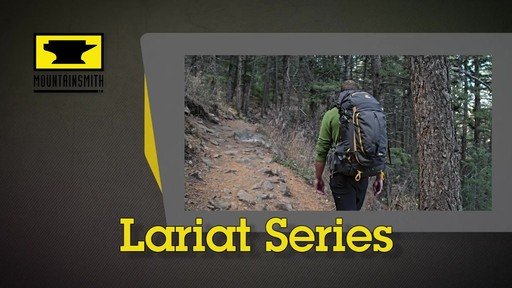Mountainsmith Lariat Hiking Backpacks - image 1 from the video