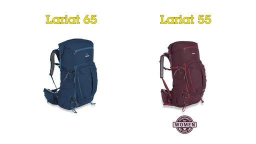 Mountainsmith Lariat Hiking Backpacks - image 2 from the video
