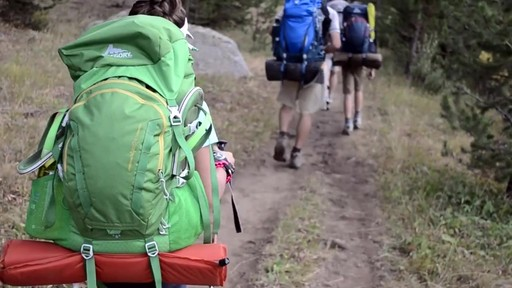 Gregory Wander Kids Hiking Backpacks - image 8 from the video