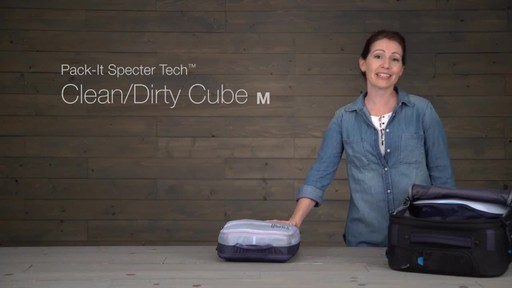 Eagle Creek Pack-It Specter Tech Clean/Dirty Cube - image 1 from the video