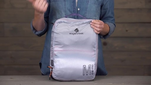 Eagle Creek Pack-It Specter Tech Clean/Dirty Cube - image 6 from the video