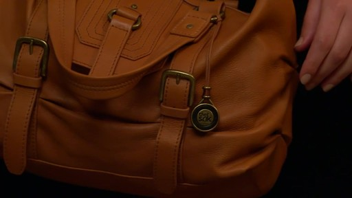 The Sak Carmel Convertible Satchel - image 9 from the video