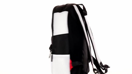 Sprayground X White Cut And Sew Backpack - Shop eBags.com - image 5 from the video