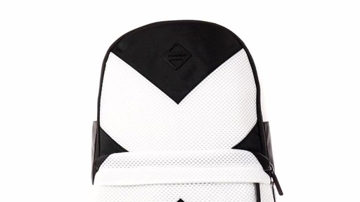 Sprayground X White Cut And Sew Backpack - Shop eBags.com - image 9 from the video