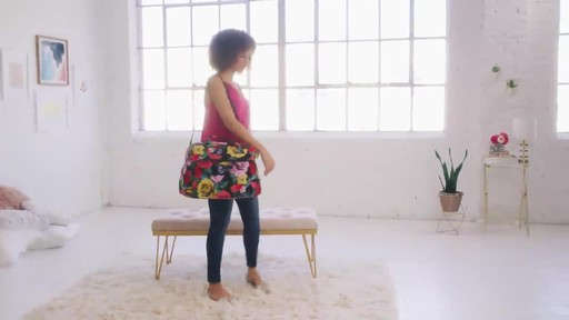 Vera Bradley Iconic Weekender Travel Bag - image 2 from the video