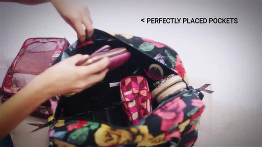 Vera Bradley Iconic Weekender Travel Bag - image 3 from the video