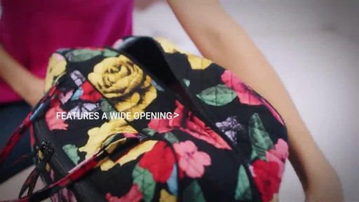 Vera Bradley Iconic Weekender Travel Bag - image 5 from the video