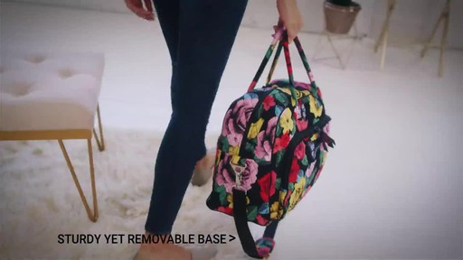 Vera Bradley Iconic Weekender Travel Bag - image 6 from the video