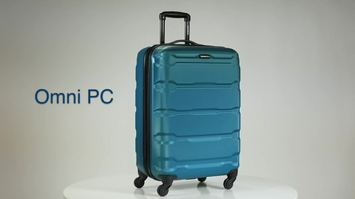 The Samsonite Omni PC Hardside Spinner on eBags.com - image 1 from the video