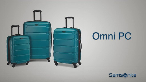 The Samsonite Omni PC Hardside Spinner on eBags.com - image 10 from the video