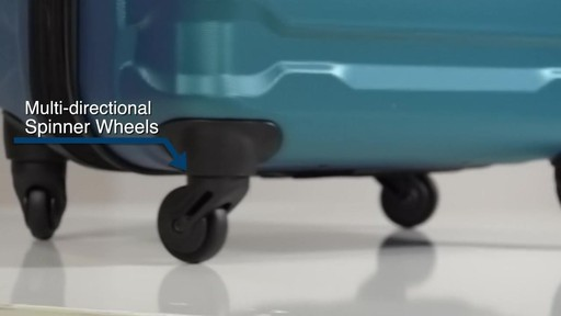 The Samsonite Omni PC Hardside Spinner on eBags.com - image 2 from the video