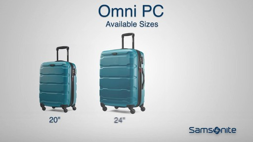 The Samsonite Omni PC Hardside Spinner on eBags.com - image 7 from the video