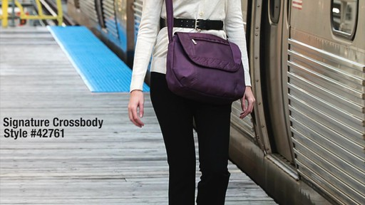 Travelon Anti-Theft Signature Cross-Body Bag - eBags.com - image 1 from the video