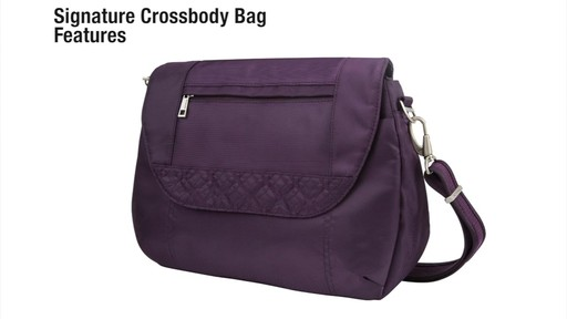 Travelon Anti-Theft Signature Cross-Body Bag - eBags.com - image 3 from the video
