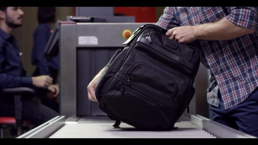 Tumi T-Pass Medium Screen Laptop Slim Brief - eBags.com - image 9 from the video