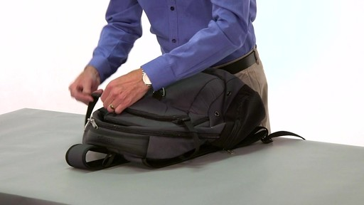 eBags Clip Laptop Backpack - on eBags.com - image 10 from the video