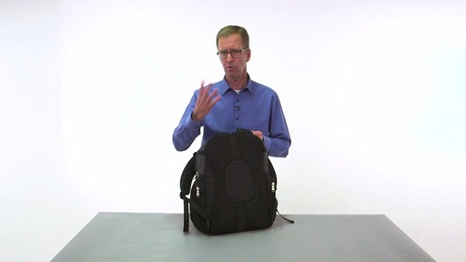 eBags Clip Laptop Backpack - on eBags.com - image 3 from the video