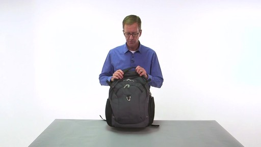 eBags Clip Laptop Backpack - on eBags.com - image 4 from the video