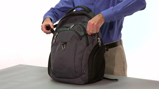 eBags Clip Laptop Backpack - on eBags.com - image 5 from the video