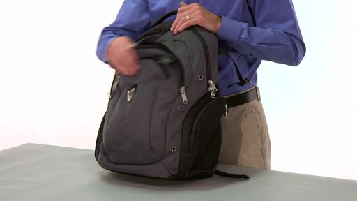eBags Clip Laptop Backpack - on eBags.com - image 6 from the video
