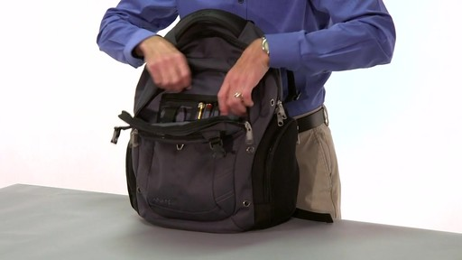 eBags Clip Laptop Backpack - on eBags.com - image 7 from the video