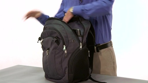 eBags Clip Laptop Backpack - on eBags.com - image 8 from the video