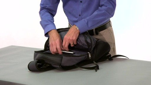 eBags Clip Laptop Backpack - on eBags.com - image 9 from the video