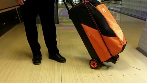 KR Strikeforce Bowling Cruiser Smooth Triple Roller Bag - eBags.com - image 3 from the video