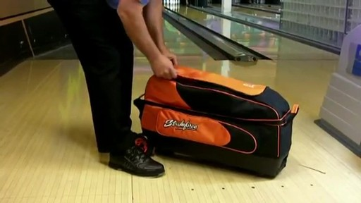 KR Strikeforce Bowling Cruiser Smooth Triple Roller Bag - eBags.com - image 6 from the video