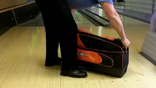 KR Strikeforce Bowling Cruiser Smooth Triple Roller Bag - eBags.com - image 7 from the video
