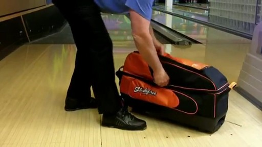 KR Strikeforce Bowling Cruiser Smooth Triple Roller Bag - eBags.com - image 8 from the video