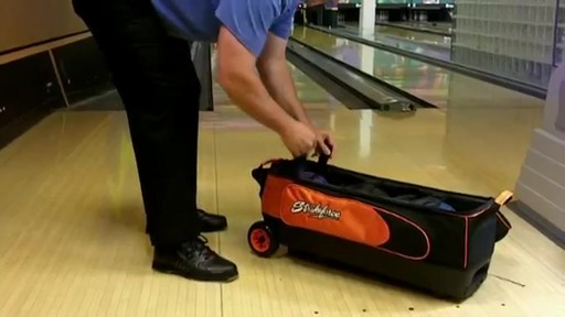 KR Strikeforce Bowling Cruiser Smooth Triple Roller Bag - eBags.com - image 9 from the video