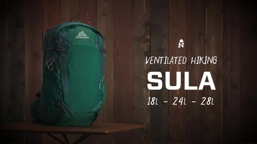 Gregory Sula Backpack Collection - image 1 from the video