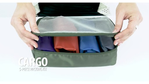 Lug Cargo 5-Piece Packing Kit - image 1 from the video