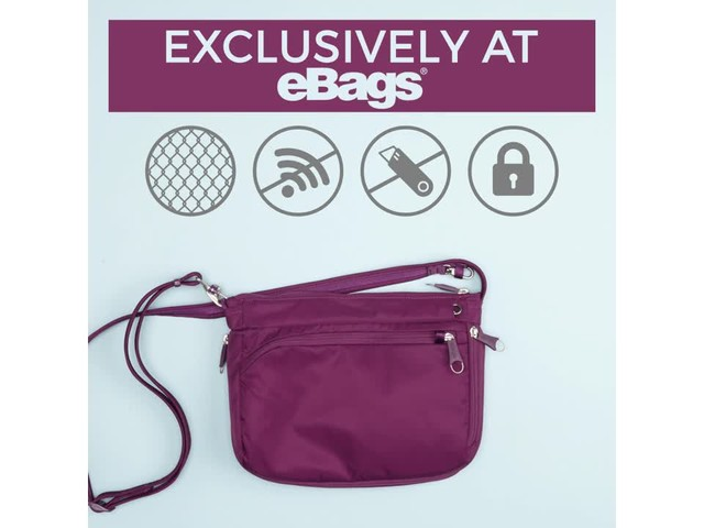 eBags Anti-Theft Crossbody - image 9 from the video