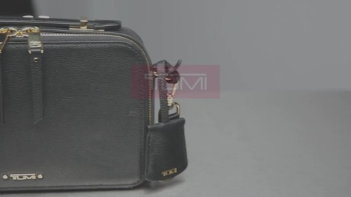 Tumi Voyageur Aberdeen Leather Crossbody - image 10 from the video