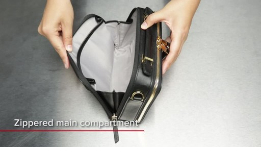 Tumi Voyageur Aberdeen Leather Crossbody - image 9 from the video