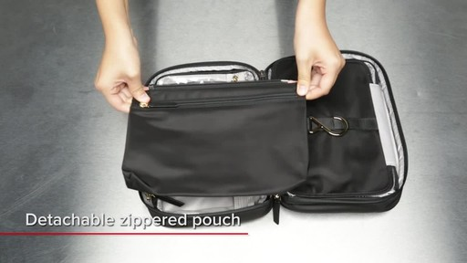 Tumi Voyageur Madina Cosmetic - image 8 from the video