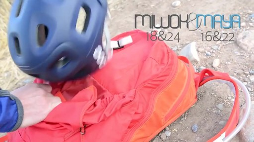 Gregory Maya & Miwok Backpacks - image 8 from the video