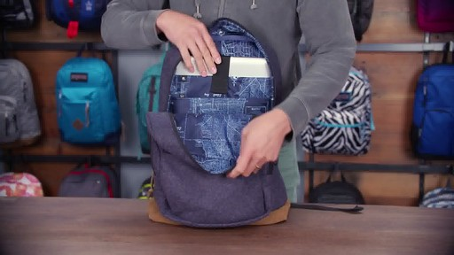 JanSport - Right Pack Digital Backpack - image 6 from the video
