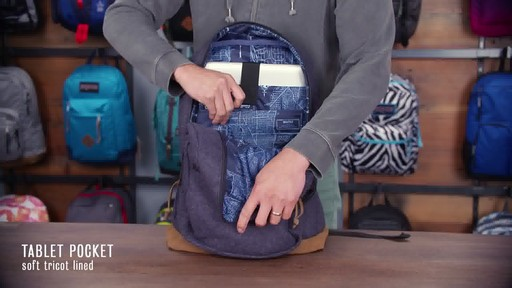 JanSport - Right Pack Digital Backpack - image 7 from the video