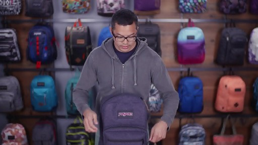 JanSport - Right Pack Digital Backpack - image 8 from the video