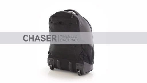 High Sierra Chaser Rolling Backpack - eBags.com - image 10 from the video