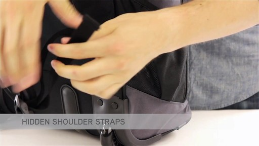 High Sierra Chaser Rolling Backpack - eBags.com - image 3 from the video