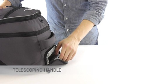 High Sierra Chaser Rolling Backpack - eBags.com - image 4 from the video