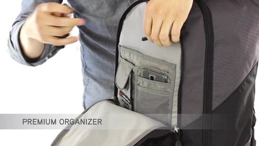 High Sierra Chaser Rolling Backpack - eBags.com - image 8 from the video