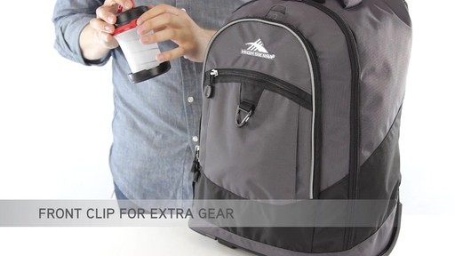 High Sierra Chaser Rolling Backpack - eBags.com - image 9 from the video