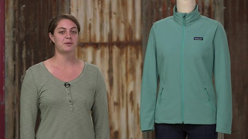 Patagonia Womens Sidesend Jacket - image 10 from the video
